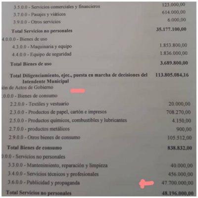 El municipio aumenta un 358% los fondos destinados a publicidad y propaganda