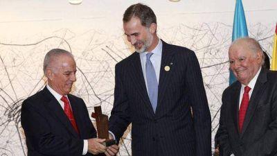 Alejandro Bulgheroni fue premiado por el rey de España
