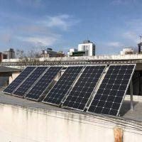 "Alumnos de la Técnica ""Mosconi"" instalaron paneles solares"