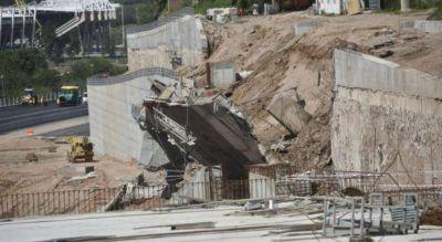 Ingenieros de la UNC peritarán el derrumbe del muro de la Circunvalación