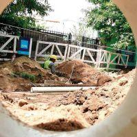 Ezeiza: aceleran construcción de cloacas en la región