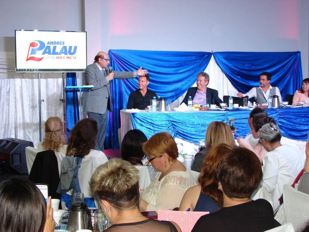 Hoy comienza festival de Andrés Palau en José C. Paz