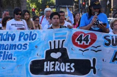 Familiares del Ara San Juan: