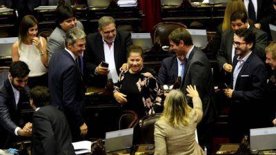 Schiaretti ignoró a Macri y votó con todo el peronismo, que metió a Wado y Camaño en la Magistratura