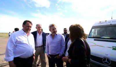 Vuelco cero en Río Negro: quedó inaugurada la planta cloacal de Choele Choel