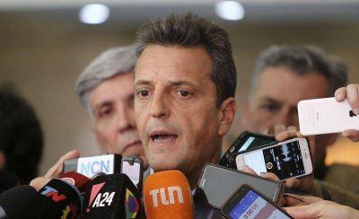 Massa reforzó sus críticas al acuerdo con el FMI