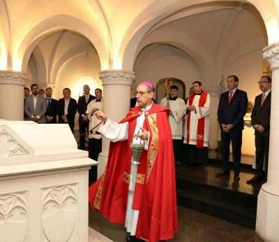 El Arzobispo Víctor Manuel Fernández brindó el tradicional Tedeum por el 136 Aniversario de La Plata