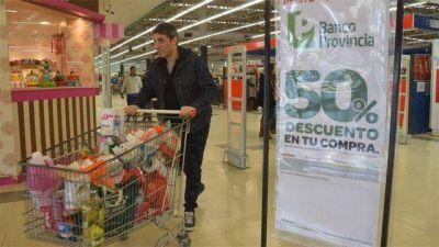 Pese a la atractiva promoción del Banco Provincia, el consumo en Buenos Aires da señales de recuperación