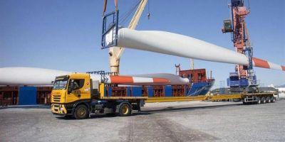 Puerto Quequén ejecutará un plan de obras urbanas y se organiza para recibir las piezas de los aerogeneradores
