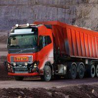 Camiones autónomos: seis Volvo FH prestarán servicio para la minera Bronnoy Kalk AS