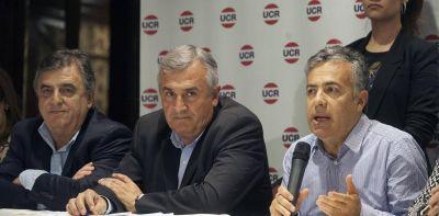 El Gobierno y los jefes de la UCR preparan un encuentro para bajar la tensión