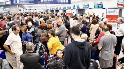 Los gremios anunciaron un paro de todos los vuelos para el lunes 26 de noviembre