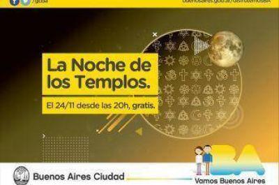 Se viene una nueva edición de la Noche de los Templos porteños