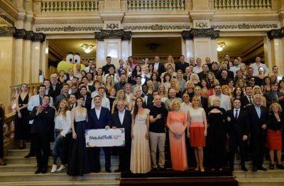 Mar del Plata lanzó su temporada a puro lujo en el Teatro Colón