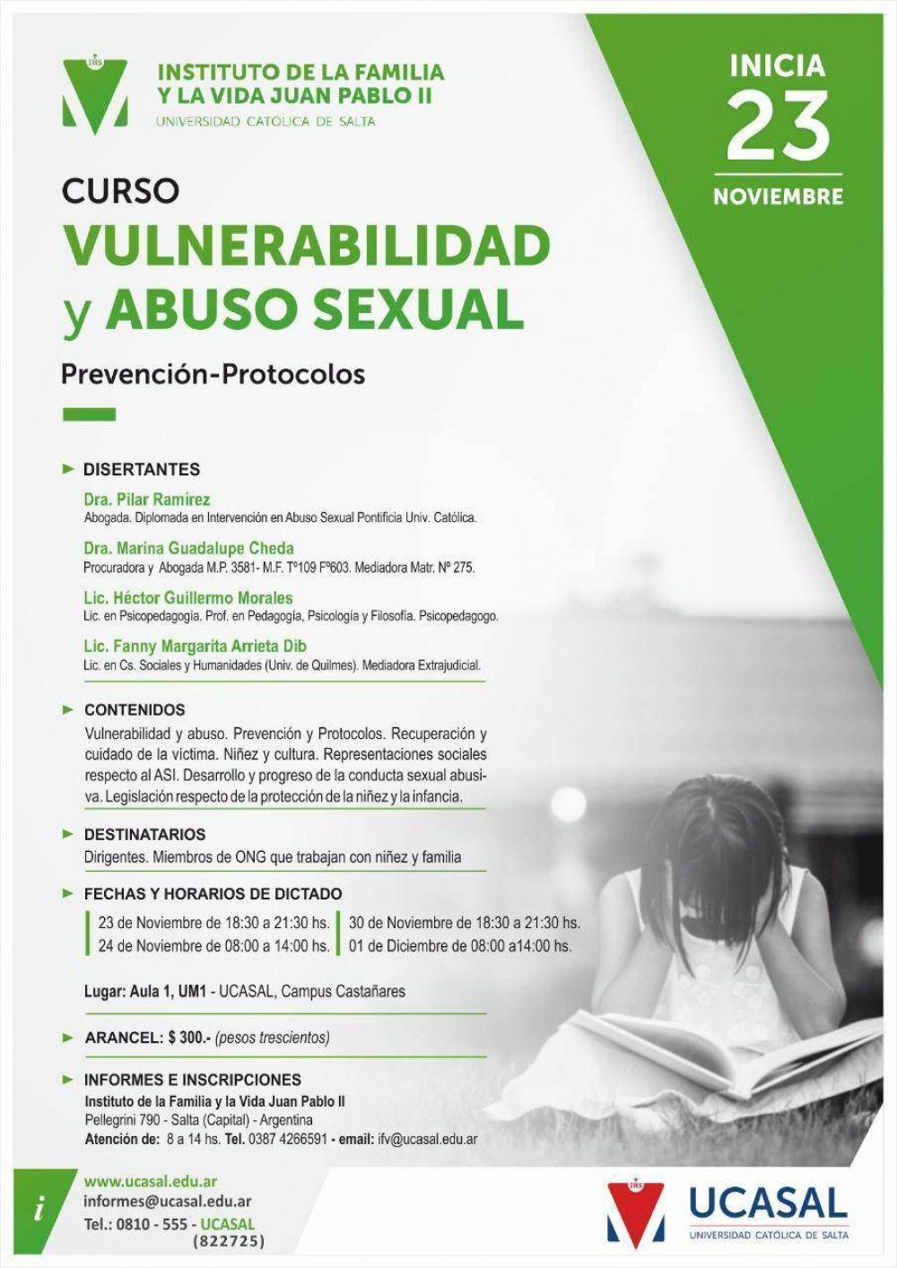 Curso: Vulnerabilidad y Abuso Sexual