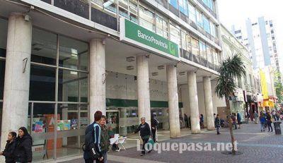 Paro bancario: este viernes no hay atención en bancos Nación y Provincia