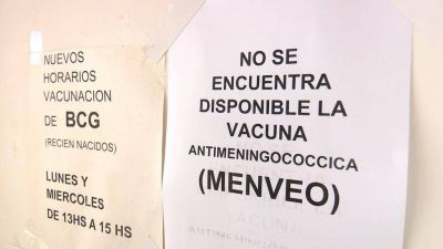 Vuelve a preocupar la falta de vacunas contra la meningitis en la Ciudad