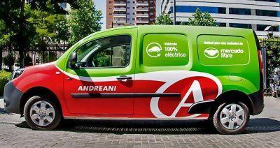 Mercado Libre genera alianza con Andreani para incorporar movilidad eléctrica en su envíos