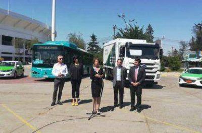 Chile presentó primer camión eléctrico de alto tonelaje