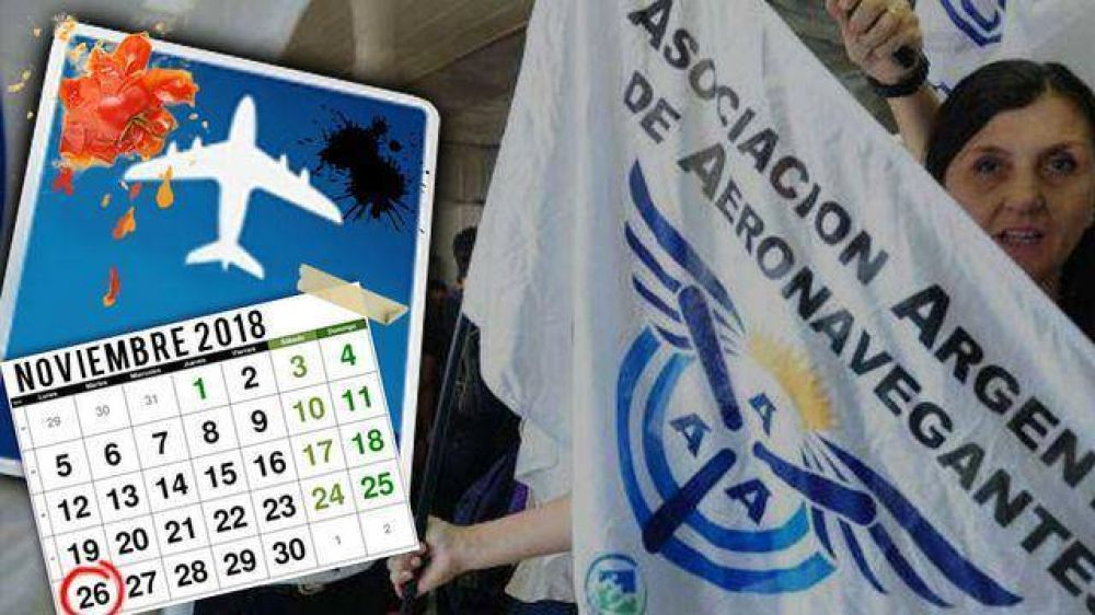 Por la medida gremial Aerolíneas Argentinas cancela todos sus vuelos del lunes: 40 mil afectados
