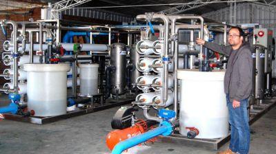 Coronel Dorrego está a punto de lograr el sueño de contar con red de agua potable