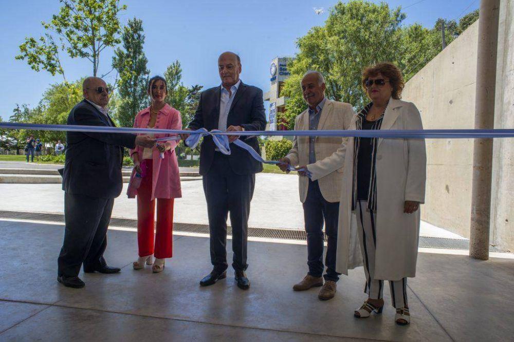 Multitudinaria inauguración del Parque Santa Clara
