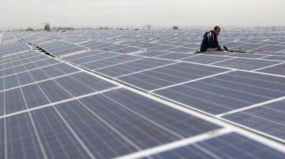 En Palmira ya se construye el primer parque solar mendocino