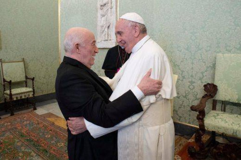 El Papa Francisco recibió en audiencia privada a la Asociación Internacional de Abogados y Juristas Judíos