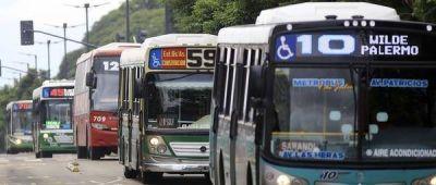 Una medida de fuerza gremial paralizó el transporte durante tres horas: no hubo colectivos, trenes ni subtes