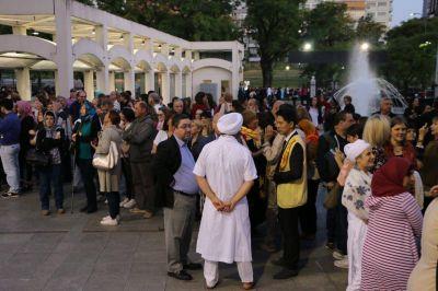 Más de 70 mil personas vivieron este sábado la tercera edición de la Noche de los Templos