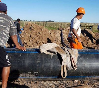 Estiman que las nuevas conexiones por el gasoducto comenzarán en junio