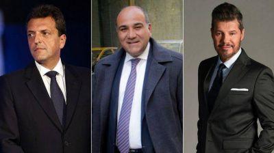 Precalienta el PJ: Massa se reunió con Manzur y Tinelli se acerca a sus