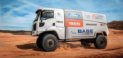 Ford debutará con dos camiones en el Dakar 2019