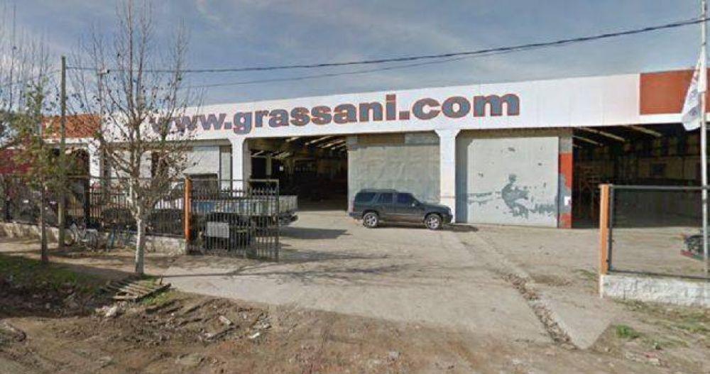 Despidos en la empresa de maquinaria agrícola Grassani