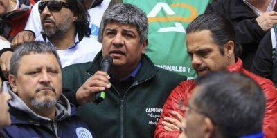 Pablo Moyano confirmó que habrá movilización contra el FMI durante la Cumbre del G-20