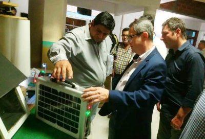 Jornadas profesionalizantes en energías renovables