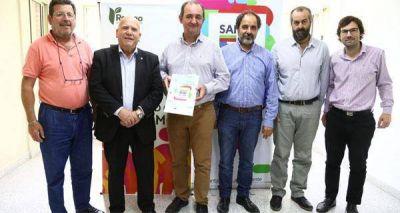 La ciudad de Recreo recibió un aporte para el Consorcio GIRSU