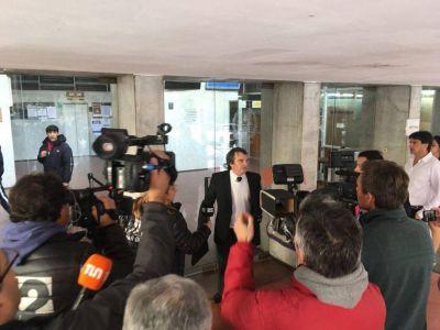 Licencias truchas: le conceden el arresto domiciliario a Belmonte