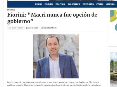 """A los mercenarios de la política, ahora llega el """"carancheo"""" de Lucas Fiorini"""