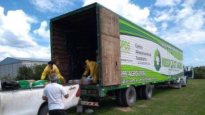 Con 3.000 envases vacíos de agroquímicos, cerró la 2da Campaña de recolección