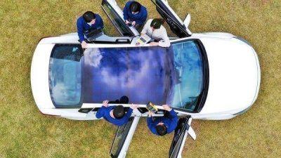 Los tres sistemas de paneles solares para cargar el auto que se lanzarán en el 2019