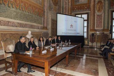 'Los grandes papas': La serie de los cuatro pontífices contemporáneos