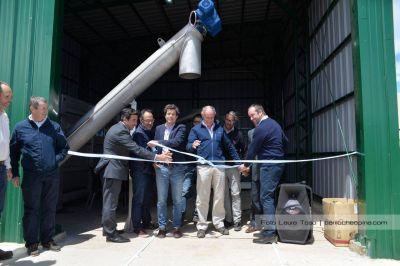 Ya funciona la planta de tratamiento de efluentes cloacales para atmosféricos