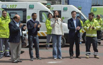 Desde el Estadio Único, Vidal anuncia el lunes el desembarco del SAME en cuatro distritos