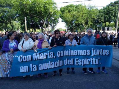 """Marcha de la Esperanza: una muestra de fe con el objetivo de """"caminar juntos"""""""