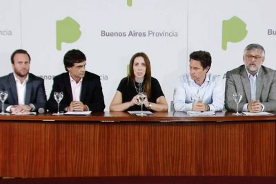 Con apoyo de Massa y el PJ, Vidal intenta aprobar la ley de presupuesto 2019