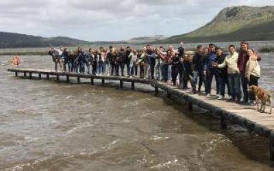 La Juventud PRO de la Quinta Sección despide el año con un campamento en Balcarce
