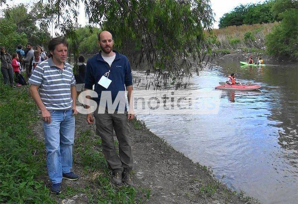 San Miguel busca recuperar el Río Reconquista para los vecinos