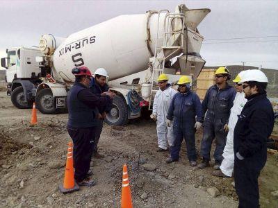 Lineamientos de seguridad de Petroleros Jerárquicos volvieron a ser fundamentales en una obra