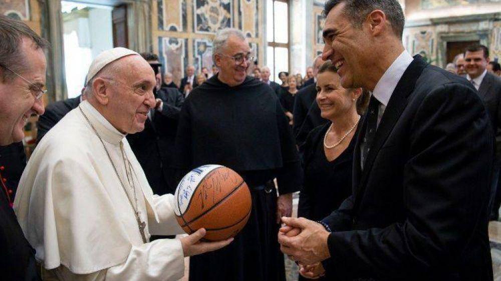 """El Papa: """"El deporte es desarrollo, honestidad, respeto y trascendencia"""""""
